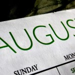 August calendar of events