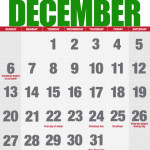December calendar of events